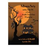 Haunted house -halloween party invitation