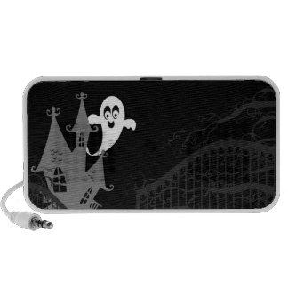 Haunted House Halloween Portable Doodle Speaker
