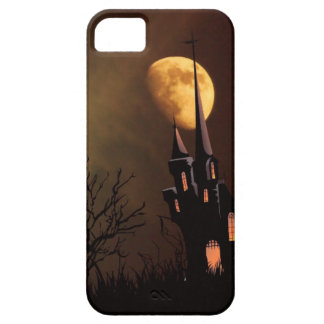 Haunted House Halloween Scene iPhone SE/5/5s Case