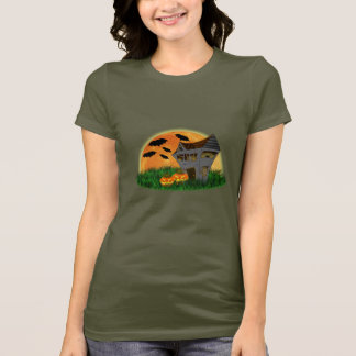 Haunted House Halloween T-shirt