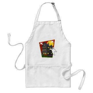 Haunted House Halloween T shirts, Hoodies, Mugs Adult Apron