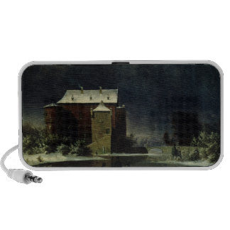 Haunted House in the Snow, 1848 Portable Speaker