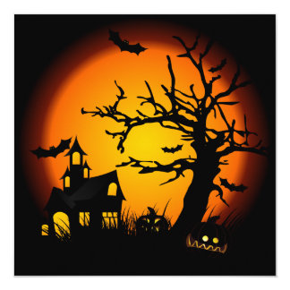 Haunted House Invitation
