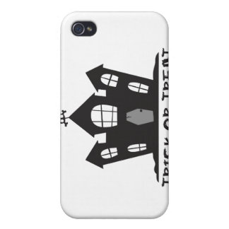 Haunted House Cases For iPhone 4