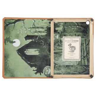 Haunted House Jack O Lantern Ghost Moon Cover For iPad Air