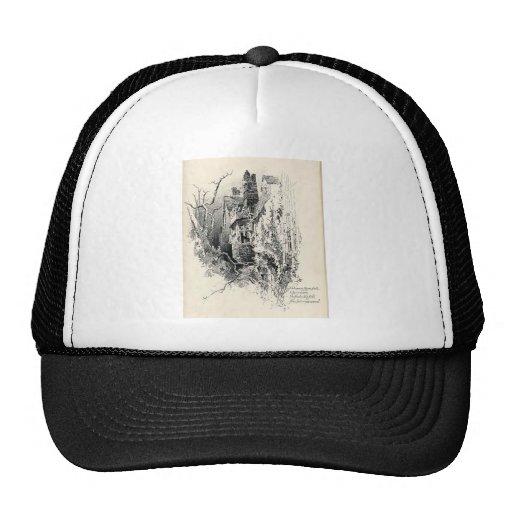 Haunted House Mesh Hat