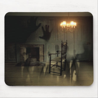 Haunted House Mouse Pad