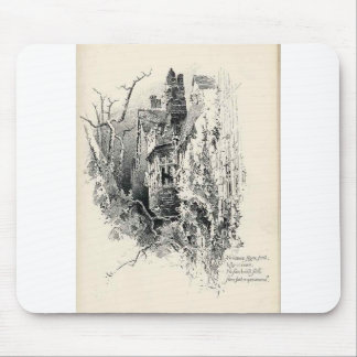 Haunted House Mouse Pads