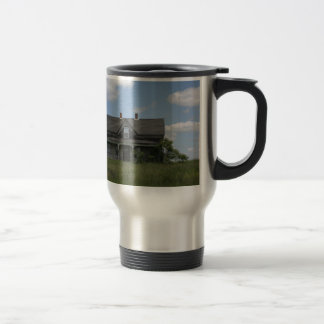 Haunted House 15 Oz Stainless Steel Travel Mug