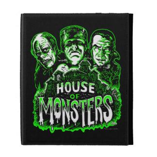 Haunted House of Monsters iPad Folio Case
