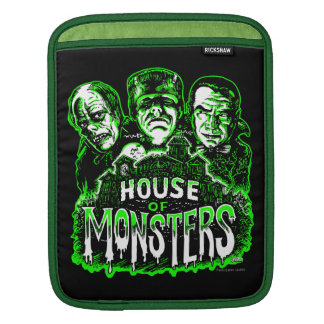 Haunted House of Monsters iPad Sleeve