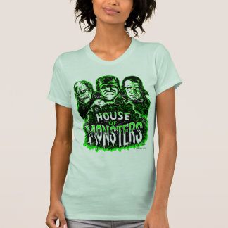 Haunted House of Monsters Tee Shirts