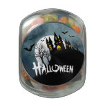 Haunted House on a Hill Spooktacular Halloween Jelly Belly Candy Jar