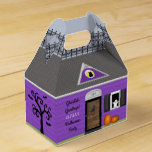 Haunted House Personalized Halloween Favor Box