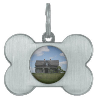 Haunted House Pet ID Tag