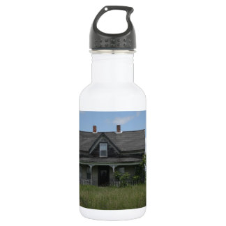 Haunted House 18oz Water Bottle