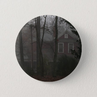 haunted house pinback button