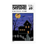 Haunted House Postage
