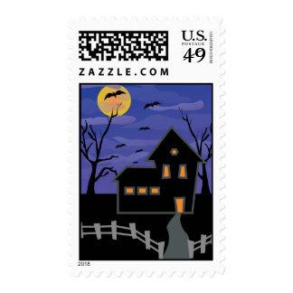Haunted House Postage