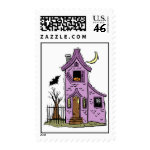 Haunted House Postage Stamp