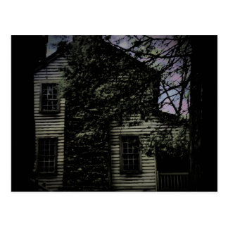 Haunted House Postcard