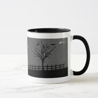 Haunted House Psycho Halloween Coffee Mug