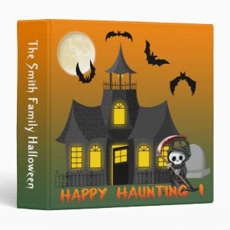 "Haunted House Reaper  1.5""  Binder"