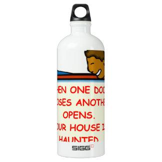 haunted house SIGG traveler 1.0L water bottle
