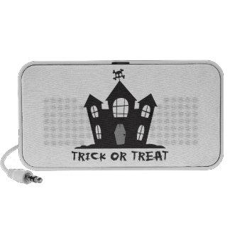 Haunted House Laptop Speaker