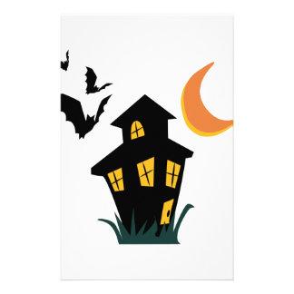 Haunted House Stationery