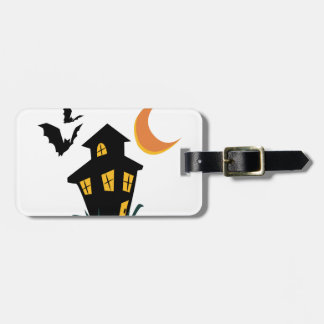 Haunted House Tag For Luggage