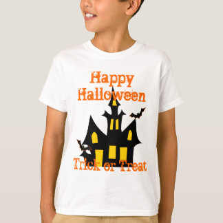haunted house   trick or treat T-Shirt