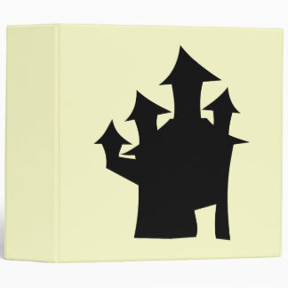 Haunted House with Four Towers. Binder