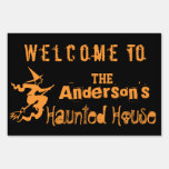 Haunted House Yard Sign