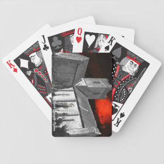 Haunted Irish Castle Bicycle Playing Cards