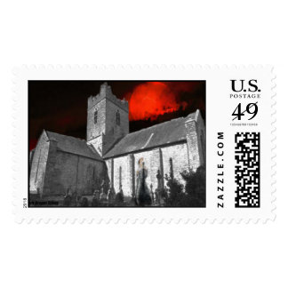 Haunted Irish Castle Stamps