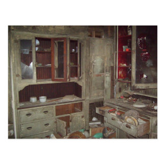 Haunted Kitchen Postcard