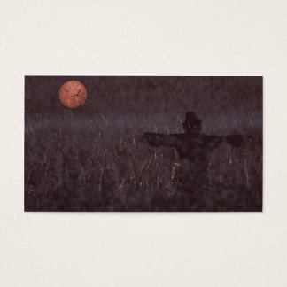 Haunted maize field bookmark business card