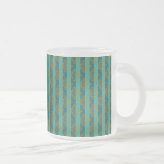"""Haunted Mansion """"Bats Entertainment"""" Frosted Glass Coffee Mug"""