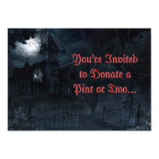 Haunted Mansion Custom Invitation