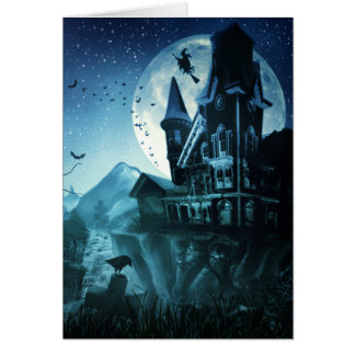 Haunted Mansion Note Card