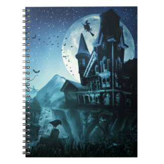 Haunted Mansion Notebook