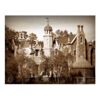 Haunted Mansion Post Card