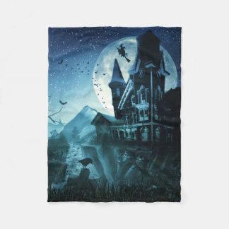 Haunted Mansion Small Fleece Blanket