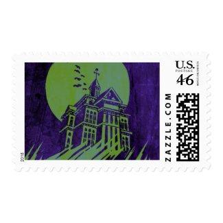 Haunted Mansion Stamp stamp