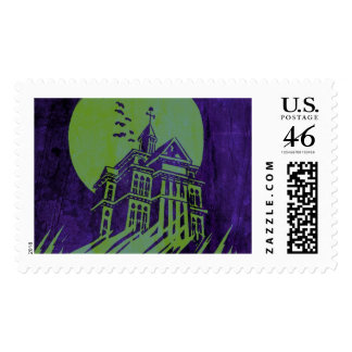 Haunted Mansion Stamp