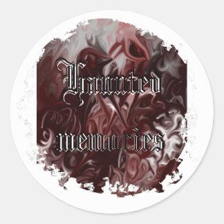 Haunted memories sticker