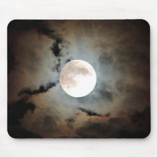 Haunted Moon Mouse Pad