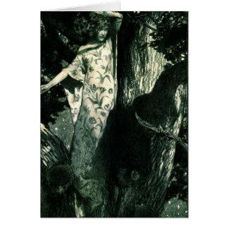 Haunted Moonlight 1902 Card
