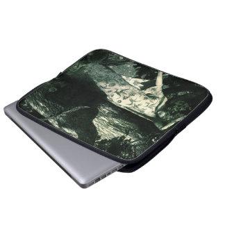 Haunted Moonlight 1902 Laptop Sleeve